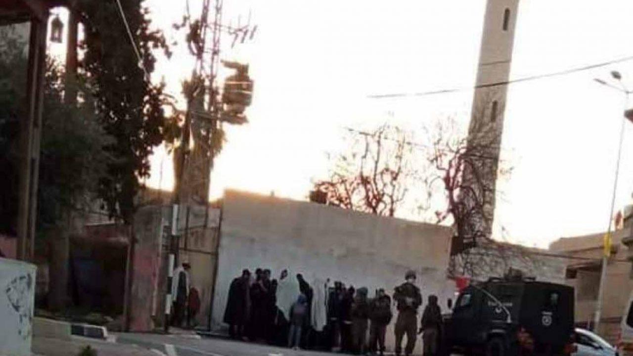 جانب من اقتحام المستوطنين بحماية جيش الاحتلال