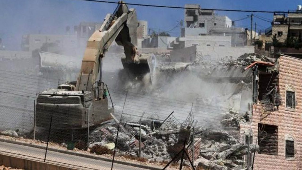 هدم المنازل في مناطق ج من قبل حكومة الاحتلال - تعبيرية
