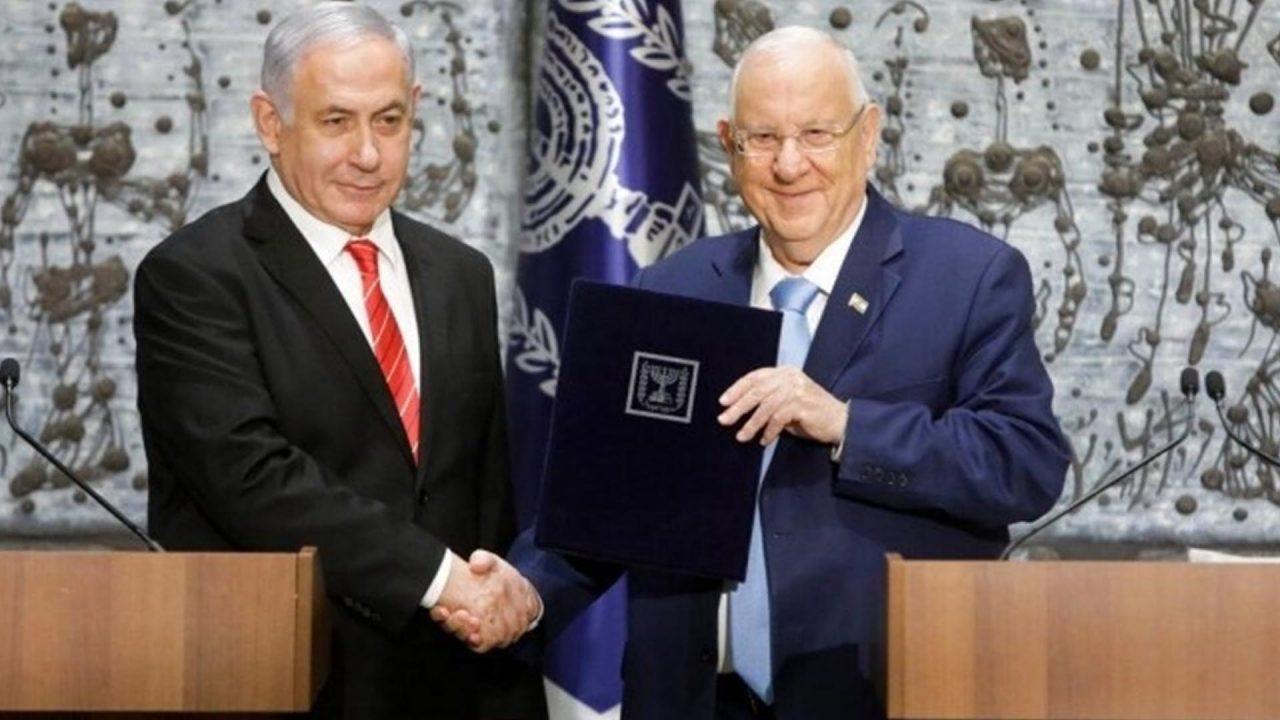 الرئيس الاسرائيلي و رئيس الوزراء الاسرائيلي