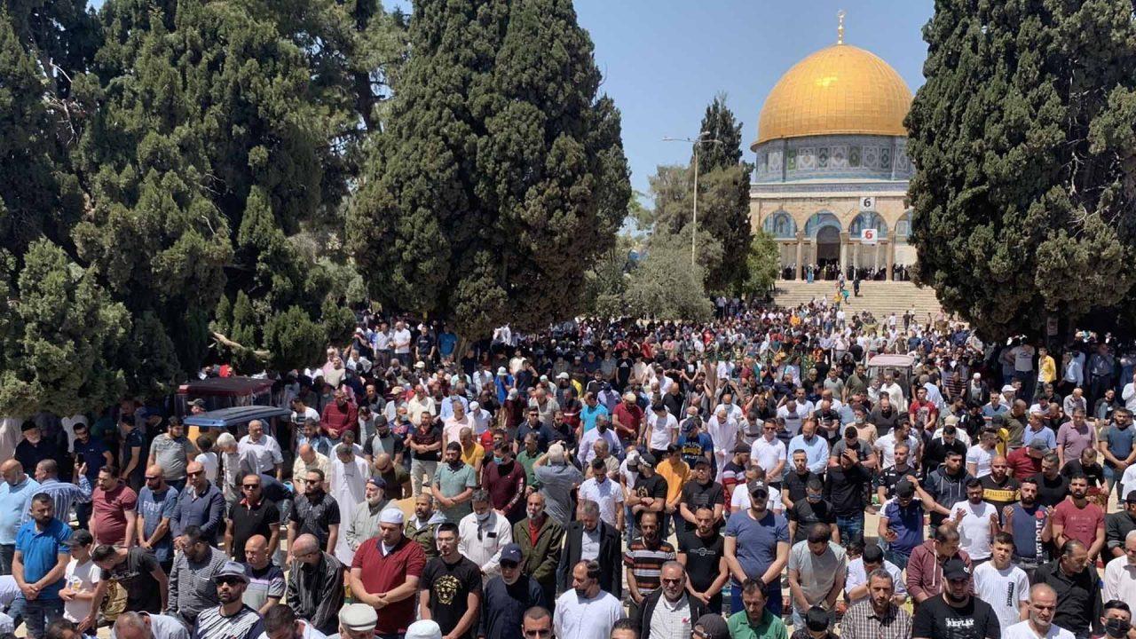 صلاة الجمعة في المسجد الأقصى - ارشيفية