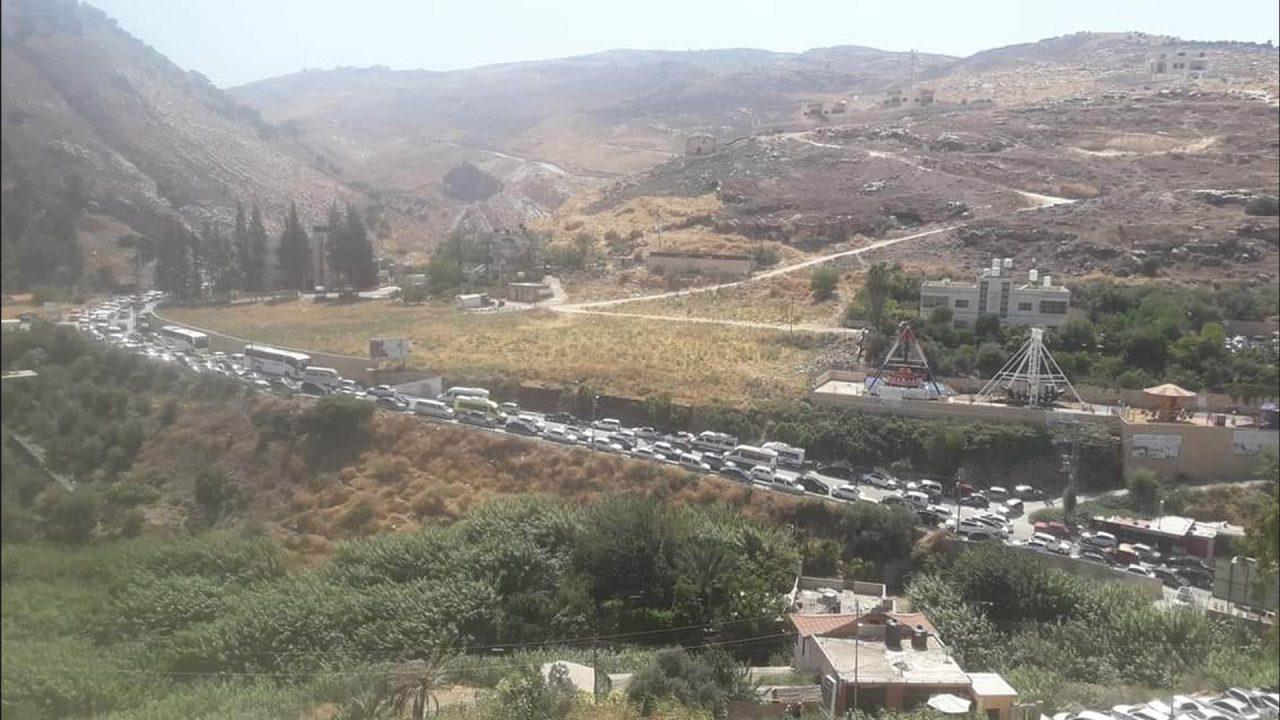 طريق نابلس الباذان