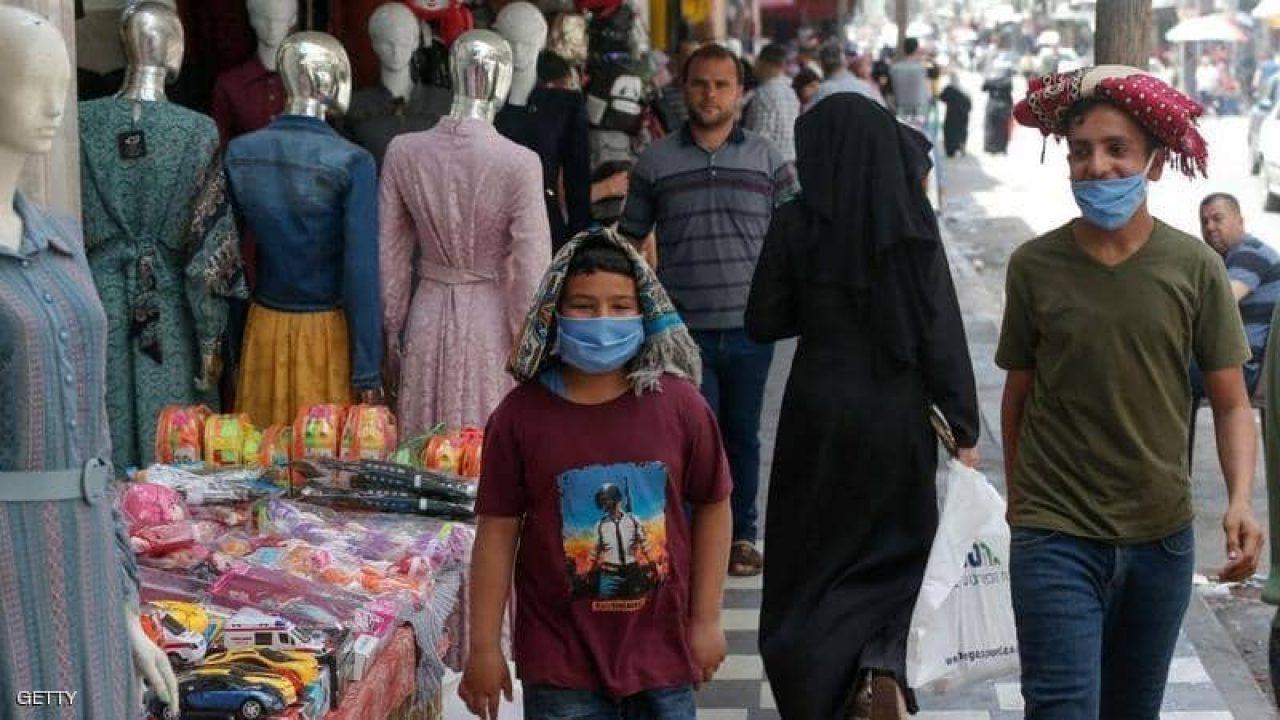 اسواق غزة في ظل كورونا