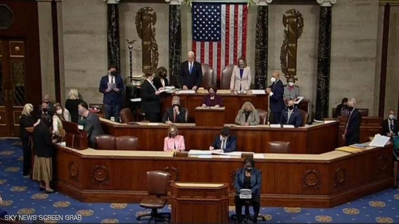 الكونغرس صادق على فوز بايدن بالرئاسة