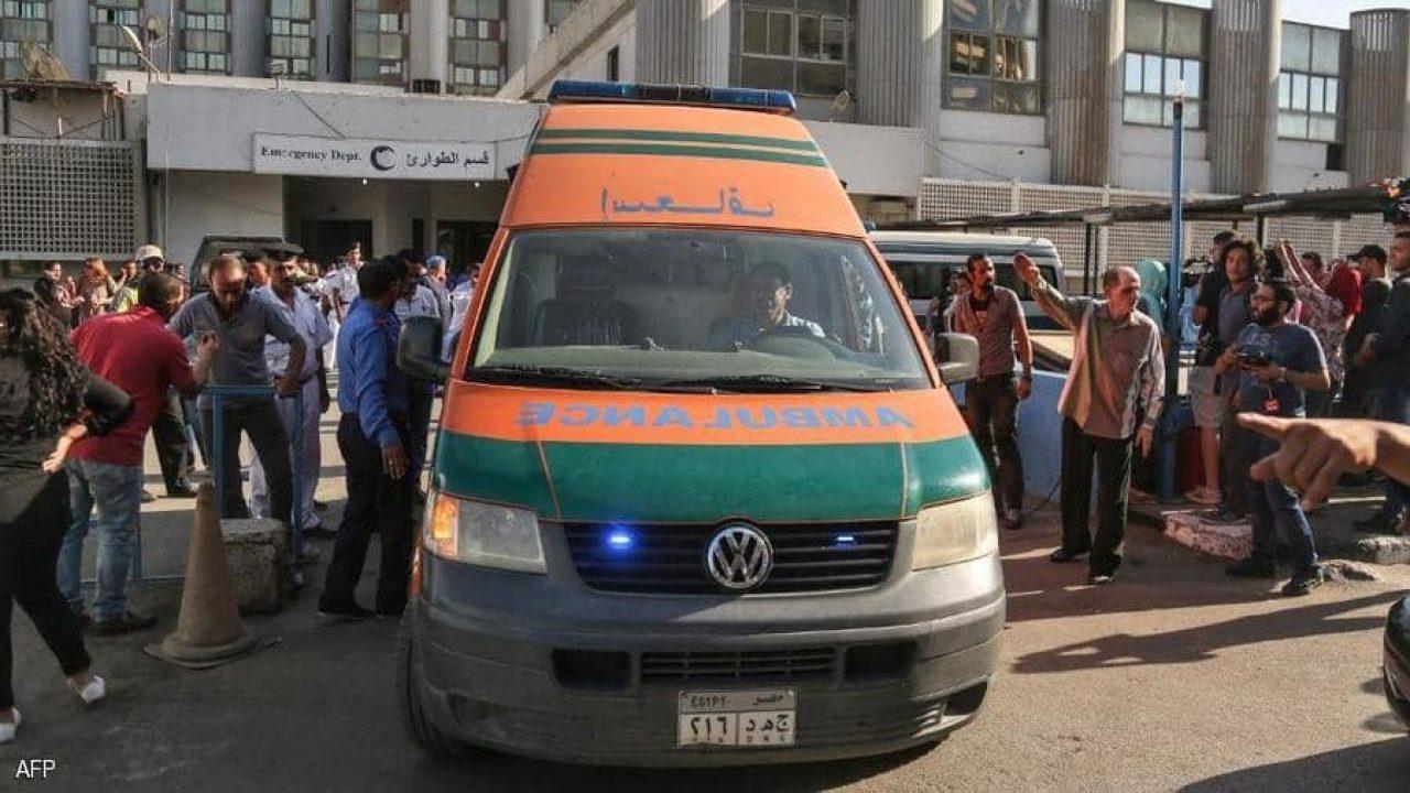 أرشيفية.. سيارة إسعاف في مصر