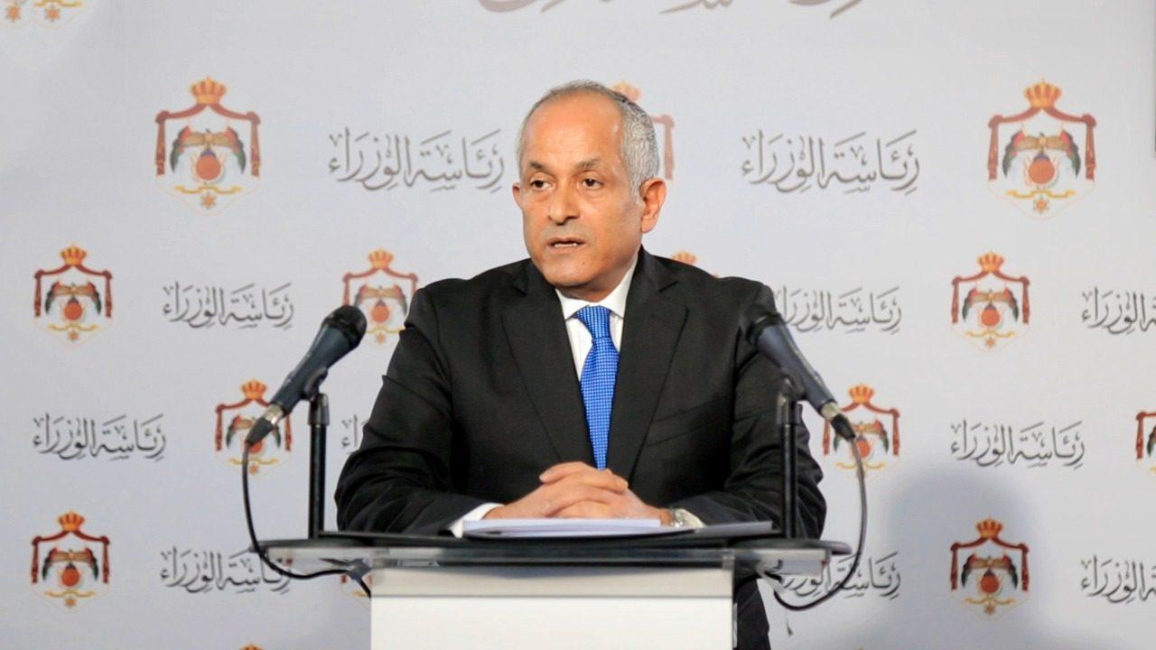 الناطق الرسمي باسم الحكومة الاردنية علي العايد وزير الدّولة لشؤون الإعلام