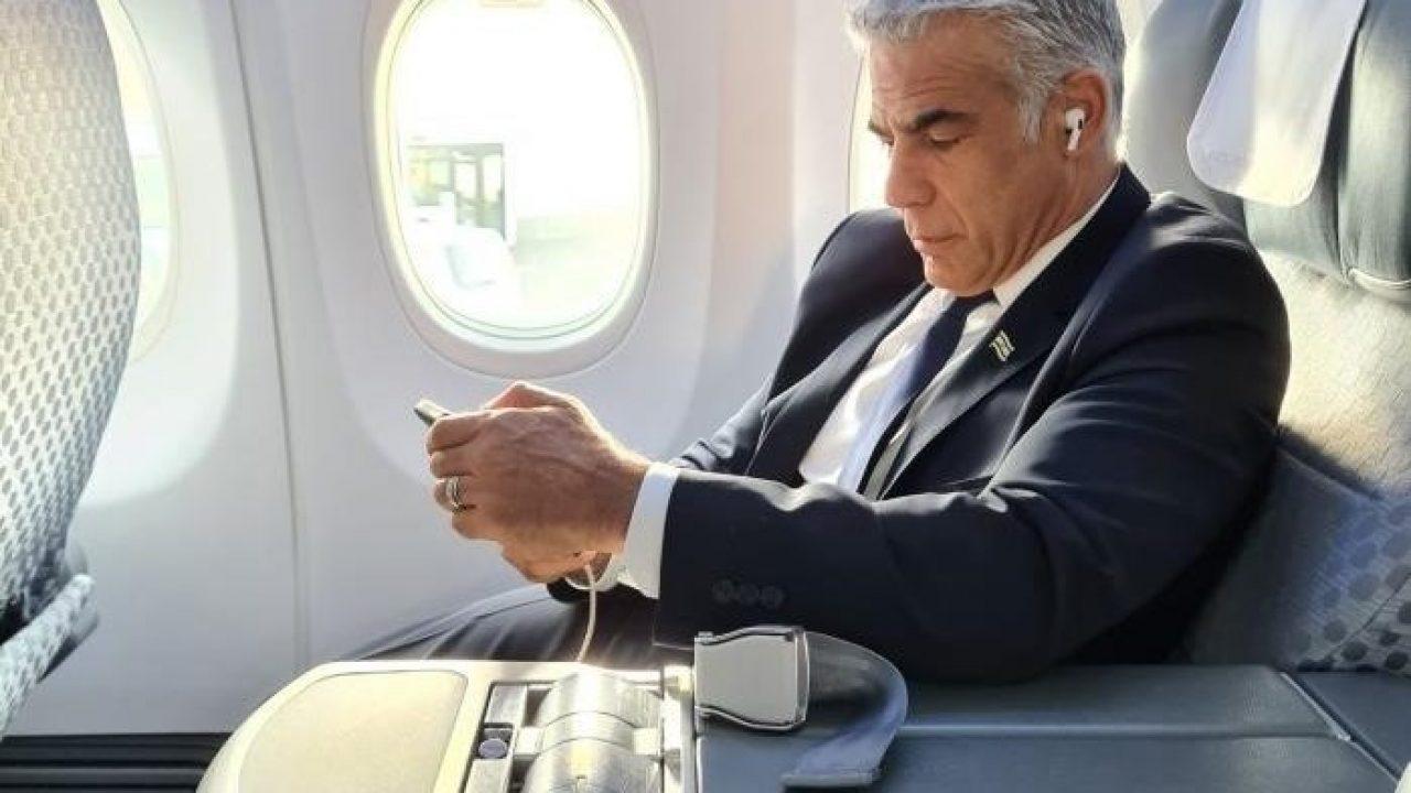 يائير لابيد وزير الخارجية الإسرائيلية