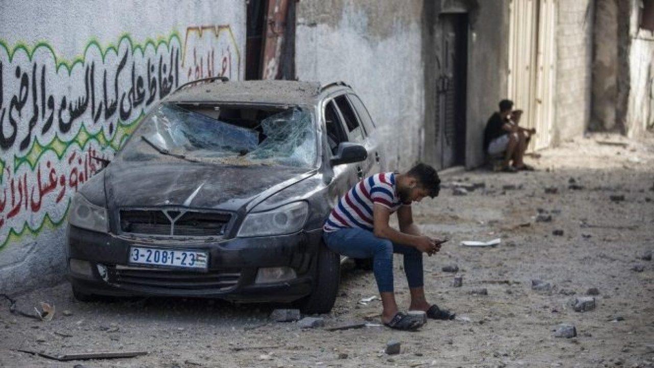 تعبيرية من غزة