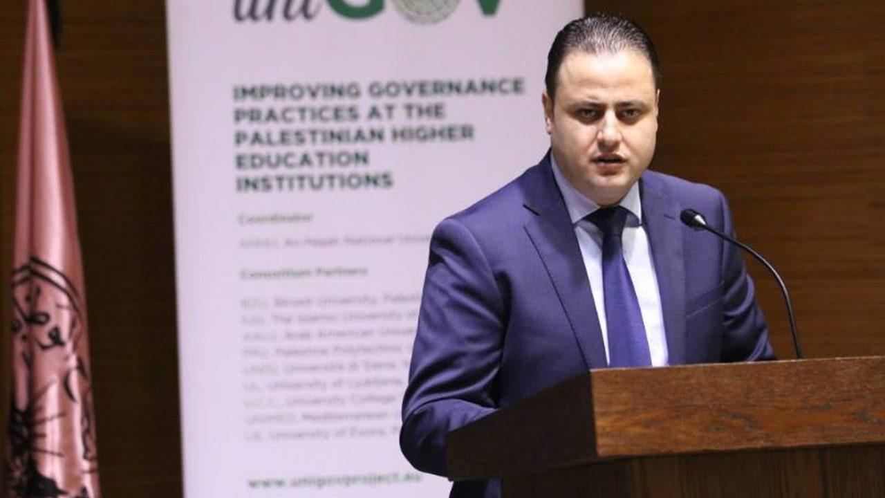 نائب رئيس جامعة النجاح لشؤون التخطيط والتطوير والجودة د. نضال دويكات