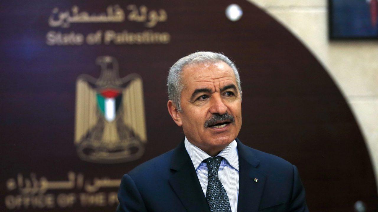 د. محمد اشتية - رئيس الحكومة الفلسطينية