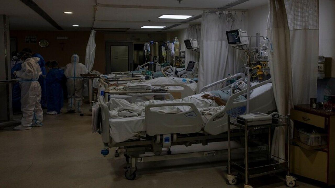 داخل احد المستشفيات في الهند