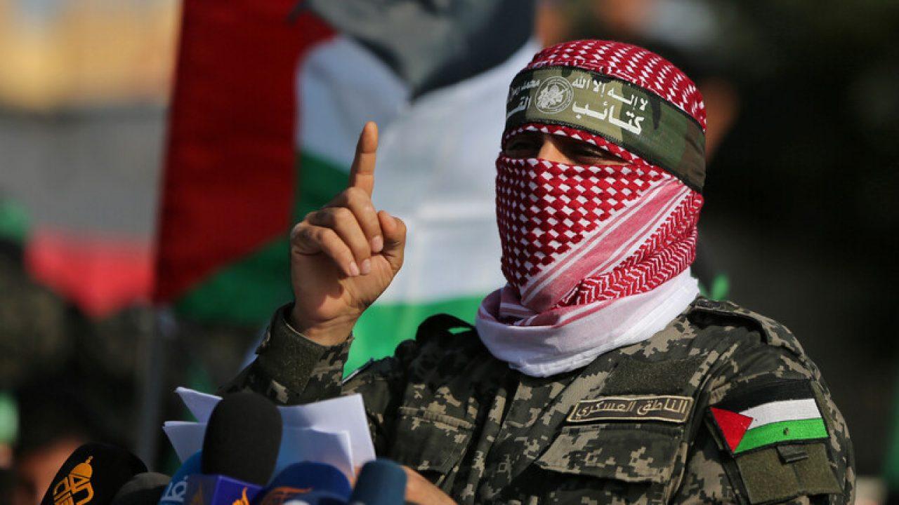 أبو عبيدة الناطق باسم كتائب القسام الجناح العسكري لحركة حماس