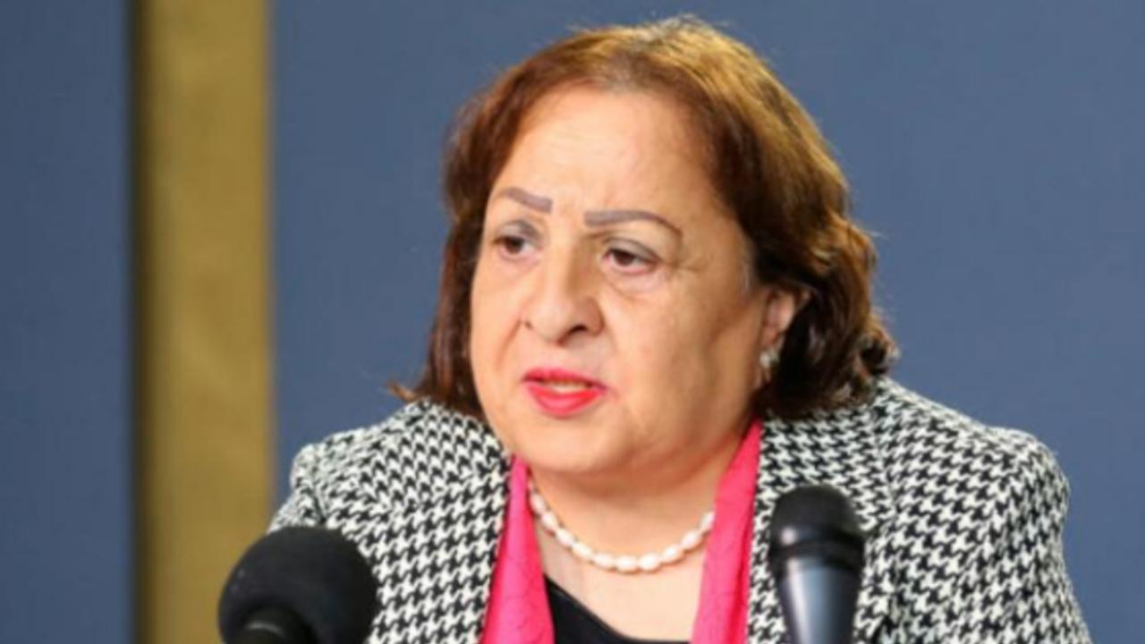 وزيرة الصحة الفلسطينية د. مي كيلة