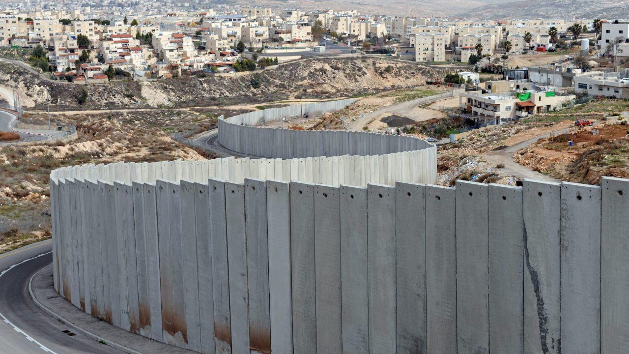 صورة ارشيفية لجدار الفصل العنصري الاسرائيلي