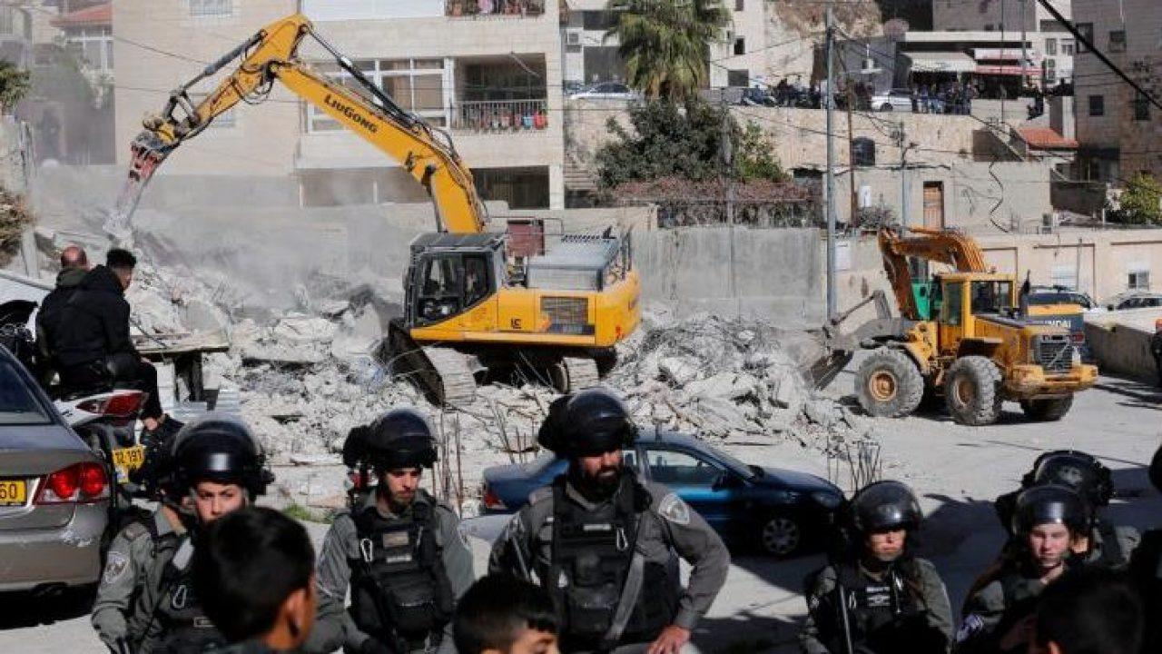 هدم قوات الاحتلال للمنازل - ارشيفية