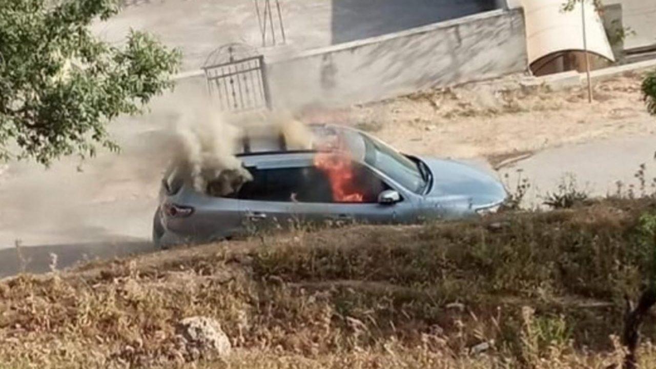 سيارة منفذ عملية زعترة