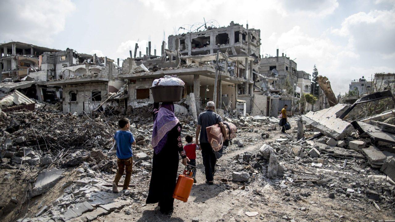 إعادة إعمار غزة
