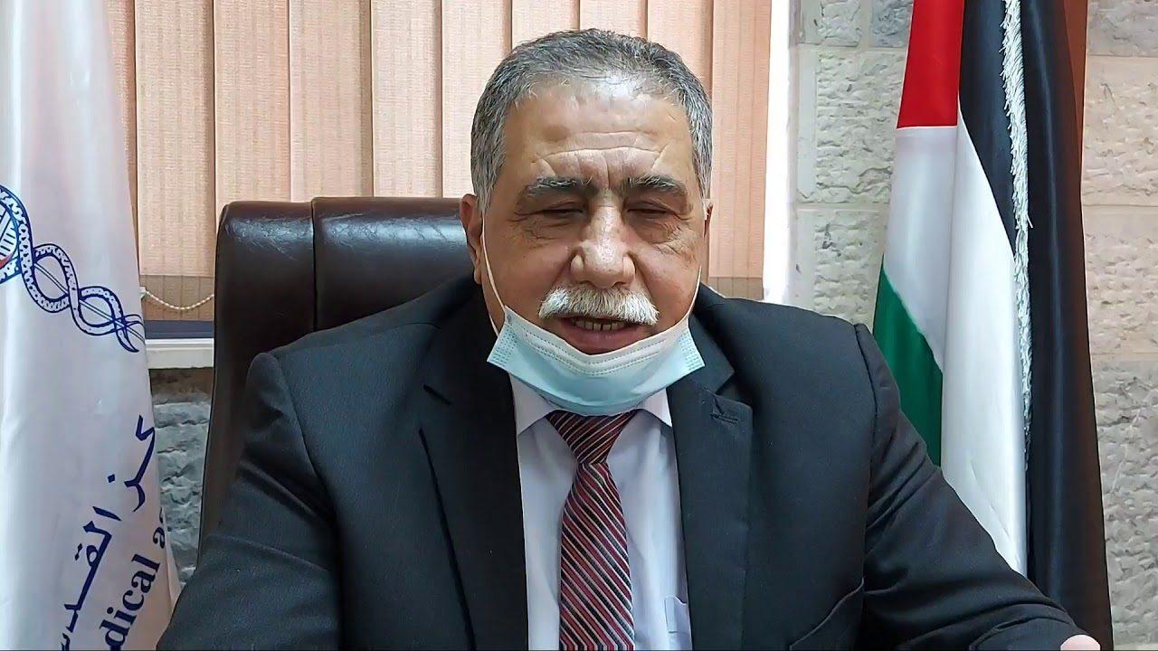 نقيب الاطباء الفلسطينين الدكتور شوقي صبحة