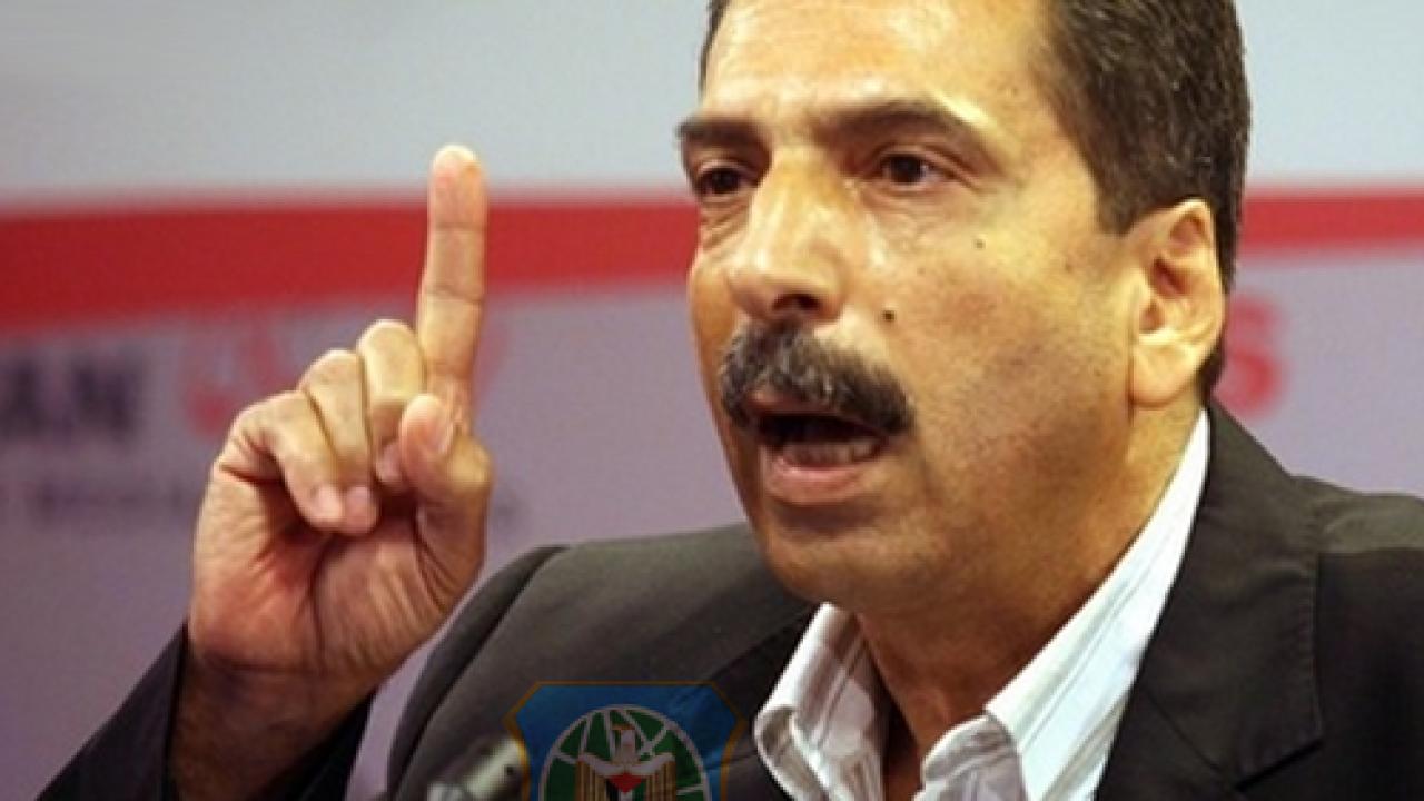 اللواء توفيق الطيراوي عضو اللجنة المركزية لحركة فتح